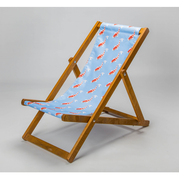 koi goldfish deck chair