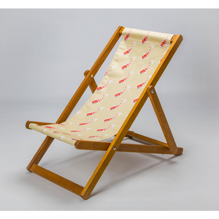 Koi - Neutral print for Elbury Deckchair