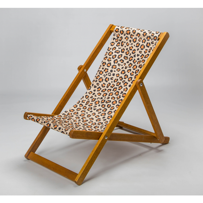 Leopard print for Elbury Deckchair