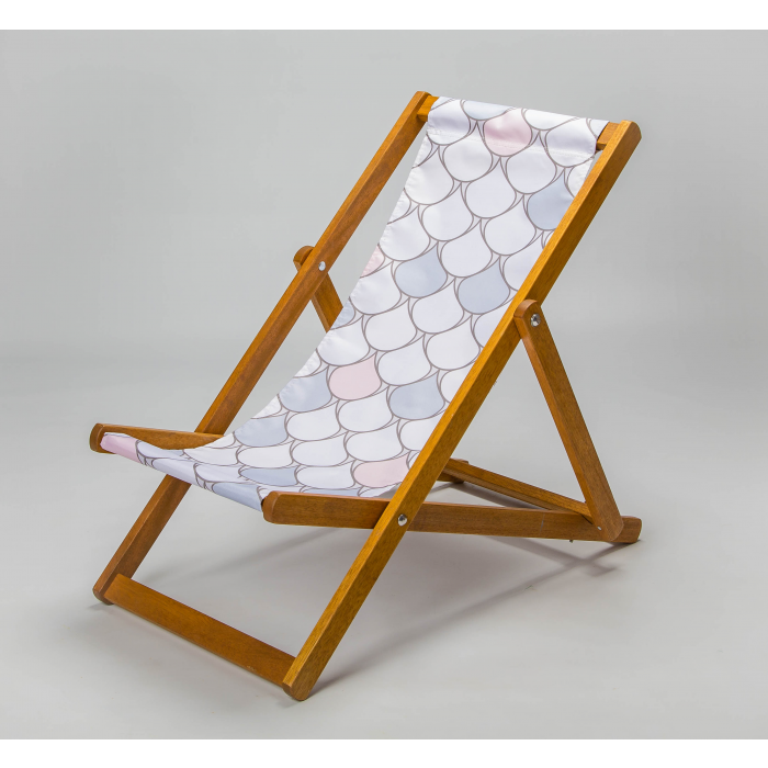 Scallop mermaid deckchair