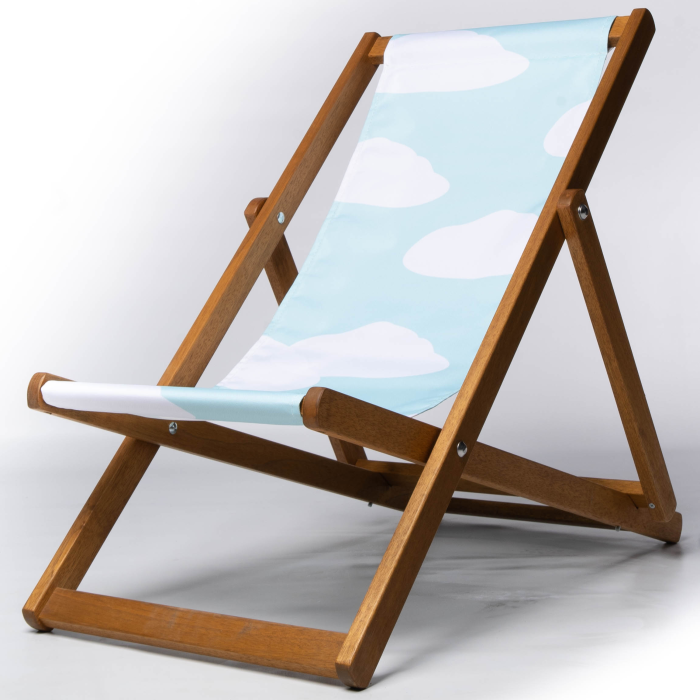 fluffy cloud design deckchair