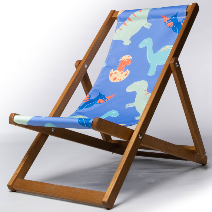 Dinosaur print deckchair