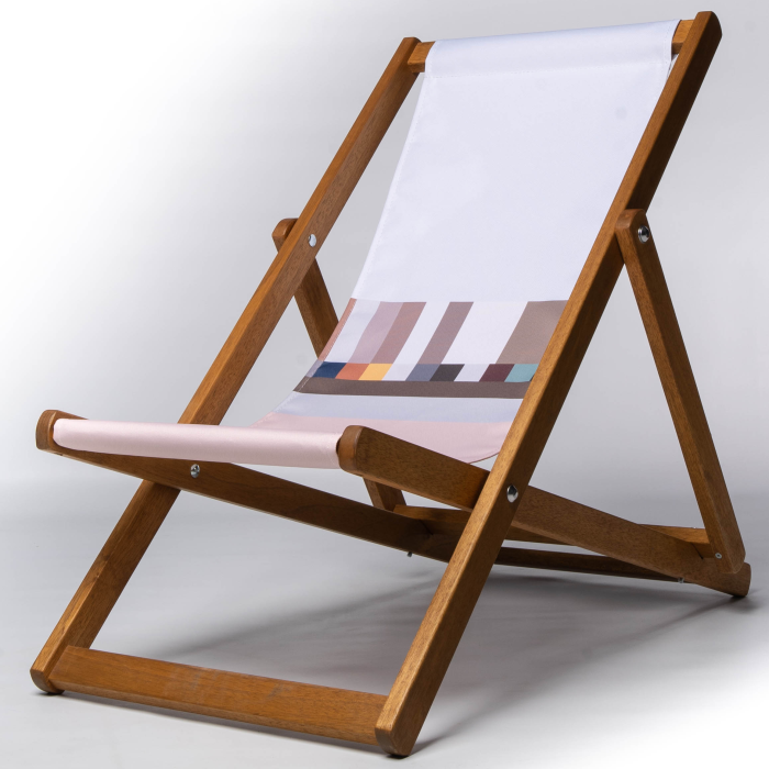Margate inspired deckchair
