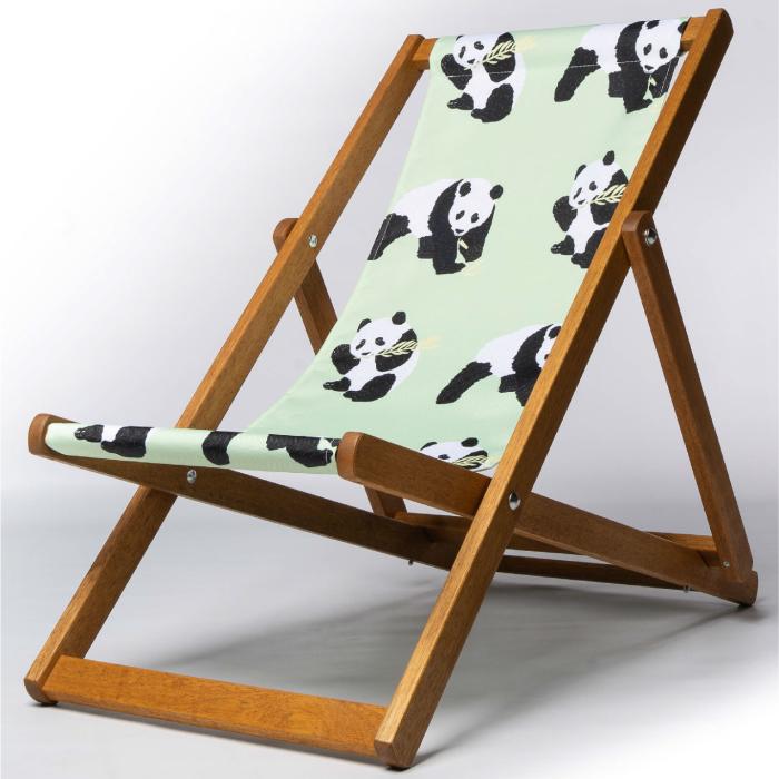 cute panda deckchair