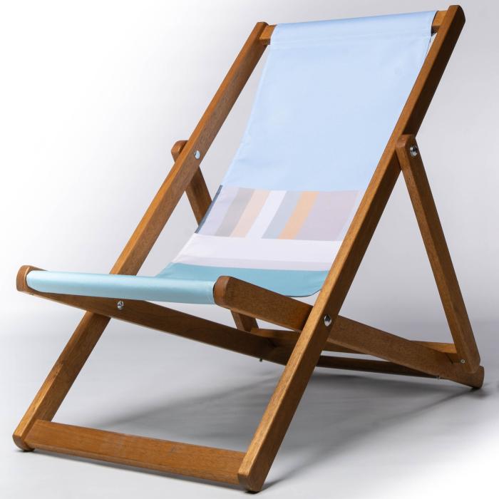 St Ives seadside deckchair