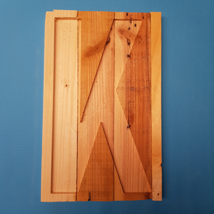 Rustic Letter Panel