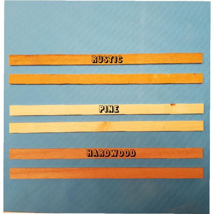 Pine finish magnet frame