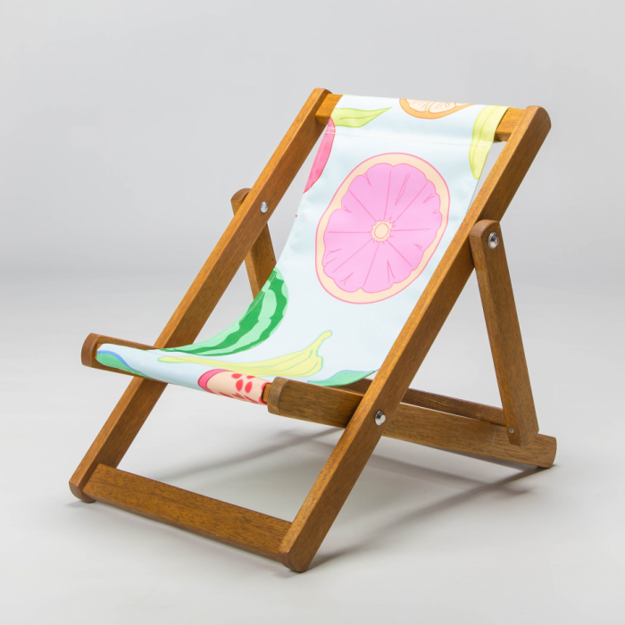 Tiny Deckchair  with Assorted Fruit